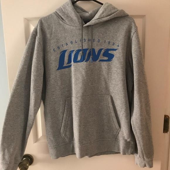 more photos 656ce 85e04 Nike Detroit Lions Sweatshirt